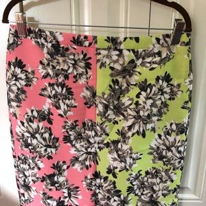 NWT - J. Crew collection floral pencil skirt